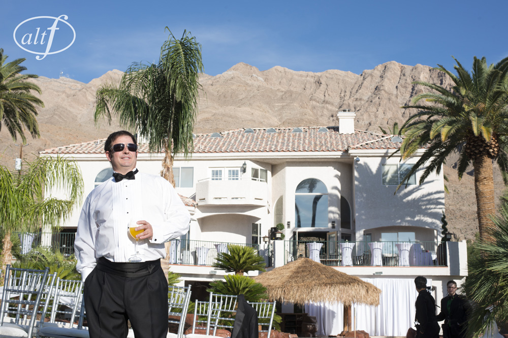 Las Vegas Private Home Wedding