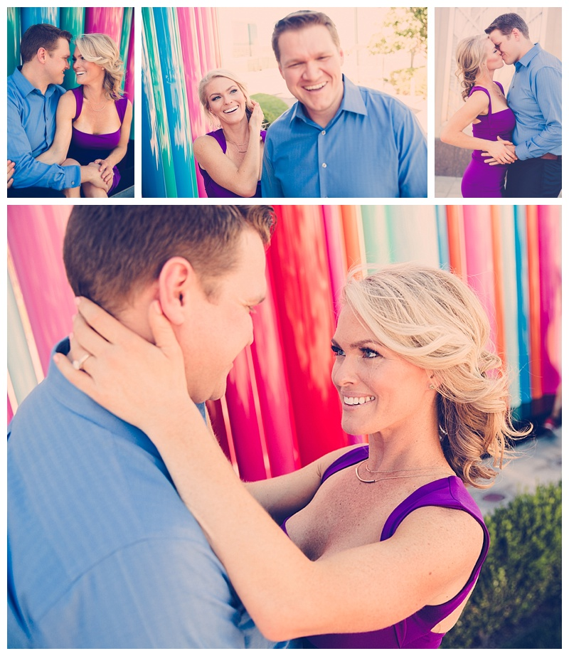 Las Vegas engagement picture