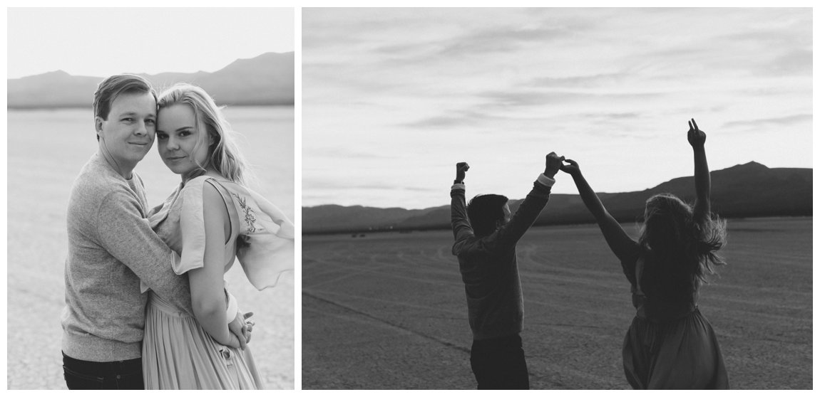 Dry Lake Bed Engagement Photos