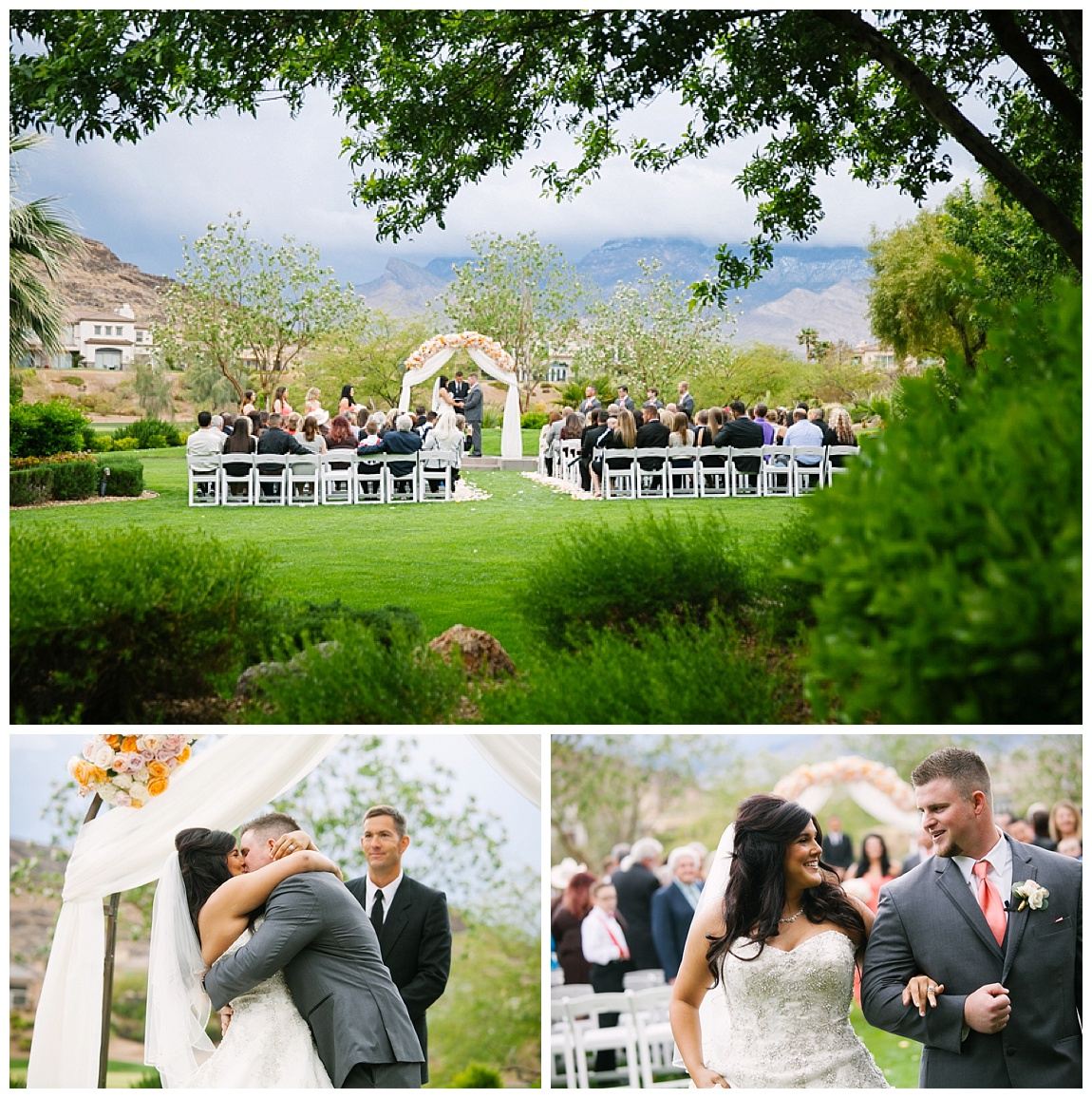 wedding at red rock country club